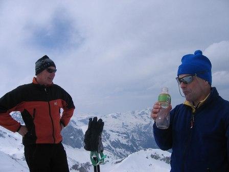 Foto: Andreas Koller / Ski Tour / Kleiner Pleißlingkeil, 2417m - über die Südwiener Hütte / 27.01.2009 22:12:24