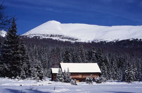 Foto: Redaktion Salzburg / Ski Tour / Preber, 2741m - Aufstieg vom Prebersee / Blick vom Prebersee, den Aufstiegshang entlang auf den Gipel des Prebers. / 15.12.2009 13:39:31