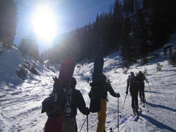 Foto: gkothi / Ski Tour / Leobner, 2036m - über den Sautrog / auch als snowboardtour geeignet, tw mit sehr schönen aussichten **gg** / 17.02.2008 18:51:21