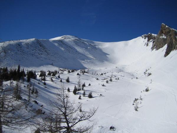Foto: gkothi / Skitour / Leobner, 2036m - über den Sautrog / gipfelhang; sehr zerfahren / 17.02.2008 18:51:51