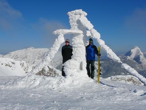 Foto: bergwolf / Skitour / Leobner, 2036m - über den Sautrog / 29.01.2009 19:37:28