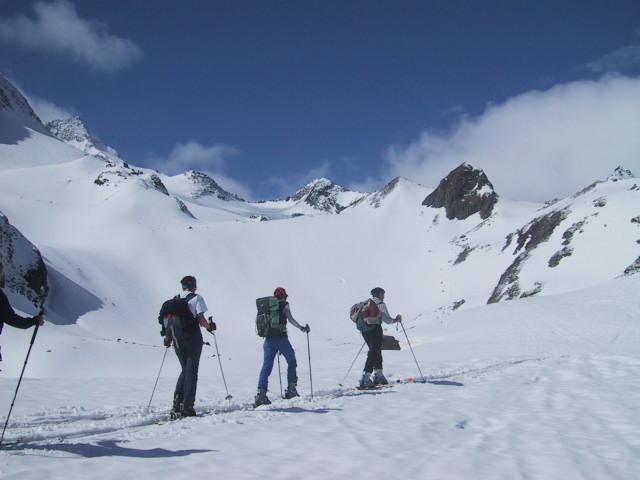 Foto: Wolfgang Lauschensky / Skitour / Innere Sommerwand, 3123m - über den Sommerwandferner / Stiergschwez / 15.02.2012 21:30:14