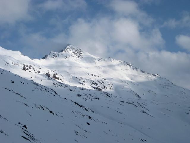 Foto: Wolfgang Lauschensky / Skitour / Kreuzspitze, 3455m - über die Südostflanke / Kreuzspitze Südostflanke / 05.02.2012 15:17:09