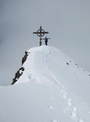Foto: Wolfgang Lauschensky / Skitour / Kreuzspitze, 3455m - über die Südostflanke / Kreuzspitze / 05.02.2012 15:15:56