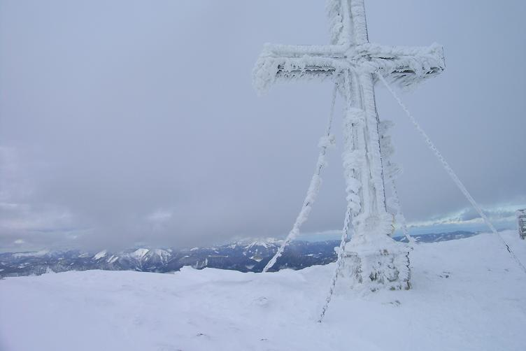 Foto: Andreas Koller / Skitour / Hohe Veitsch, 1981m - Südanstieg/Goassteign-Abfahrt / 16.12.2008 20:33:04