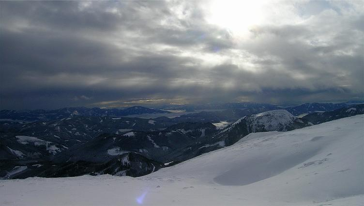 Foto: Andreas Koller / Ski Tour / Hohe Veitsch, 1981m - Südanstieg/Goassteign-Abfahrt / 16.12.2008 20:32:58