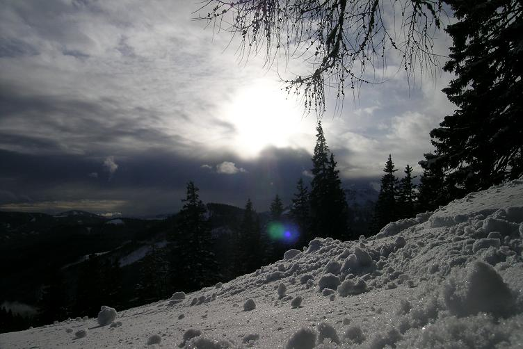 Foto: Andreas Koller / Ski Tour / Hohe Veitsch, 1981m - Südanstieg/Goassteign-Abfahrt / 16.12.2008 20:31:55