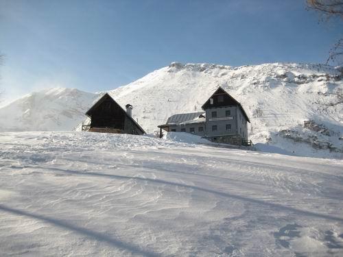 Foto: Atzi / Ski Tour / Rote Wand / Aufstieg über Variante 4 (Dümlerhütte) / 16.02.2008 21:26:32
