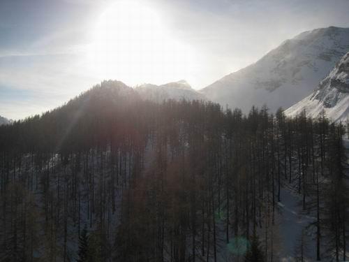 Foto: Atzi / Ski Tour / Rote Wand / Aufstieg über Variante 4 (Dümlerhütte) / 16.02.2008 21:26:44