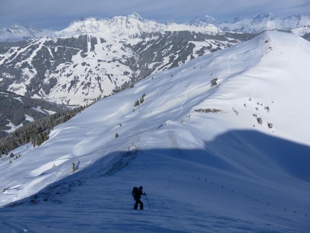 Foto: Wolfgang Lauschensky / Ski Tour / Oberer Gernkogel, 2175m / Nordgratansatz zum Oberen Gernkogel und Hocheck / 23.01.2013 23:19:15