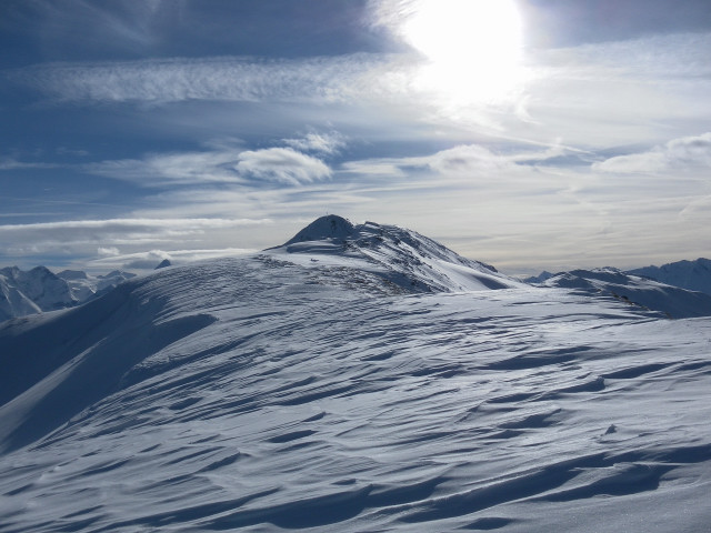 Foto: Wolfgang Lauschensky / Ski Tour / Oberer Gernkogel, 2175m / über den Nordkamm zum Gipfel / 23.01.2013 23:18:22