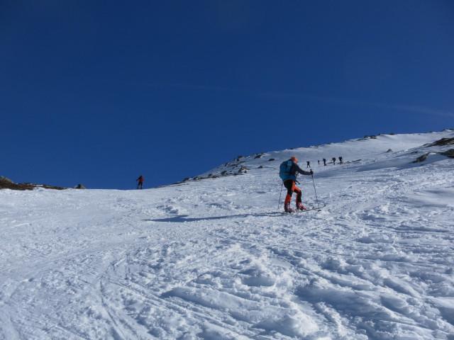 Foto: Wolfgang Lauschensky / Ski Tour / Hochgasser, 2922m / meist pistenartige Bedingungen / 10.03.2013 17:15:01