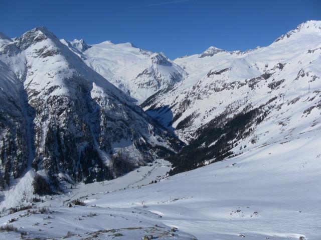 Foto: Wolfgang Lauschensky / Ski Tour / Hochgasser, 2922m / Blick zum Venediger / 10.03.2013 17:14:48