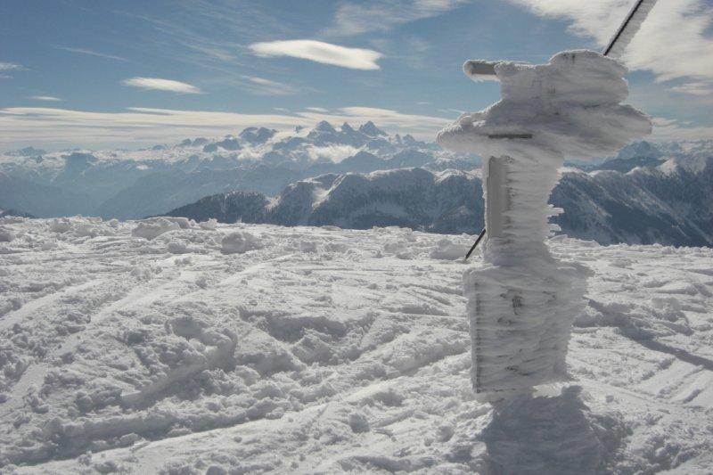 Foto: Andreas Steiner / Ski Tour / Leonsberg (Zimnitz), 1745m / 28.01.2010 10:32:48