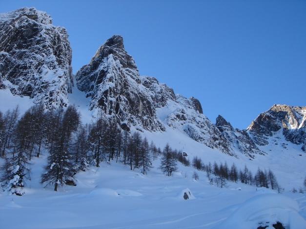 Foto: Manfred Karl / Ski Tour / Zwingscharte, 2760m - bzw. Hoher Tenn - Schneespitze, 3317m / 21.12.2008 16:36:54