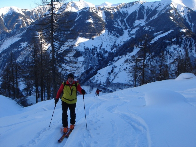 Foto: Manfred Karl / Ski Tour / Zwingscharte, 2760m - bzw. Hoher Tenn - Schneespitze, 3317m / 21.12.2008 16:36:24