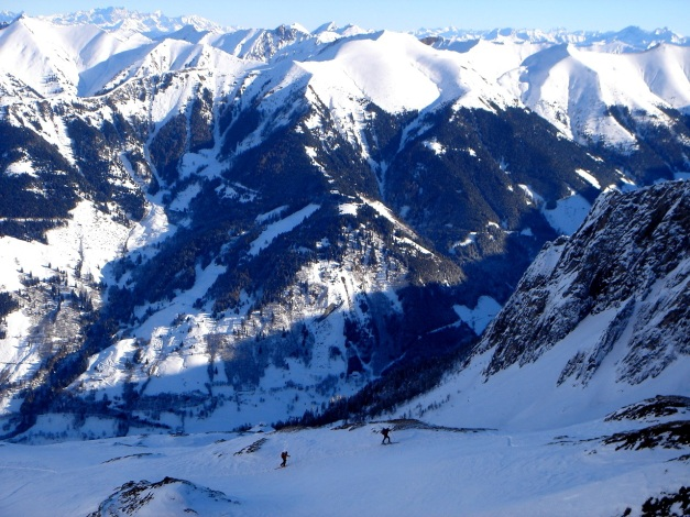 Foto: Manfred Karl / Ski Tour / Zwingscharte, 2760m - bzw. Hoher Tenn - Schneespitze, 3317m / 21.12.2008 16:35:54
