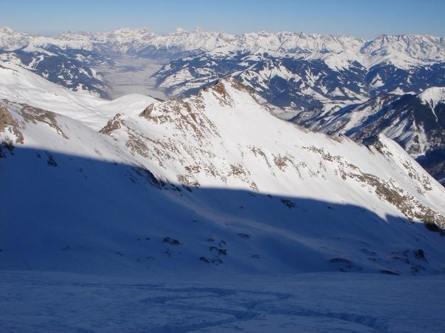 Foto: Manfred Karl / Ski Tour / Zwingscharte, 2760m - bzw. Hoher Tenn - Schneespitze, 3317m / 21.12.2008 16:34:51