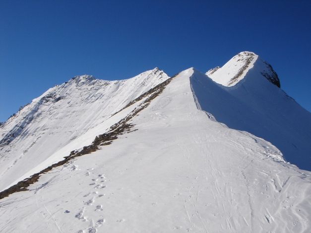 Foto: Manfred Karl / Ski Tour / Zwingscharte, 2760m - bzw. Hoher Tenn - Schneespitze, 3317m / 21.12.2008 16:33:52