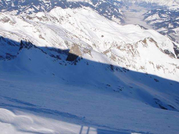 Foto: Manfred Karl / Ski Tour / Zwingscharte, 2760m - bzw. Hoher Tenn - Schneespitze, 3317m / 21.12.2008 16:33:14
