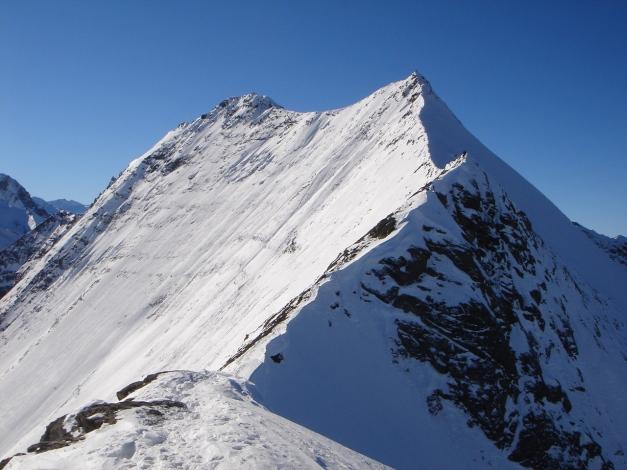 Foto: Manfred Karl / Ski Tour / Zwingscharte, 2760m - bzw. Hoher Tenn - Schneespitze, 3317m / 21.12.2008 16:33:00