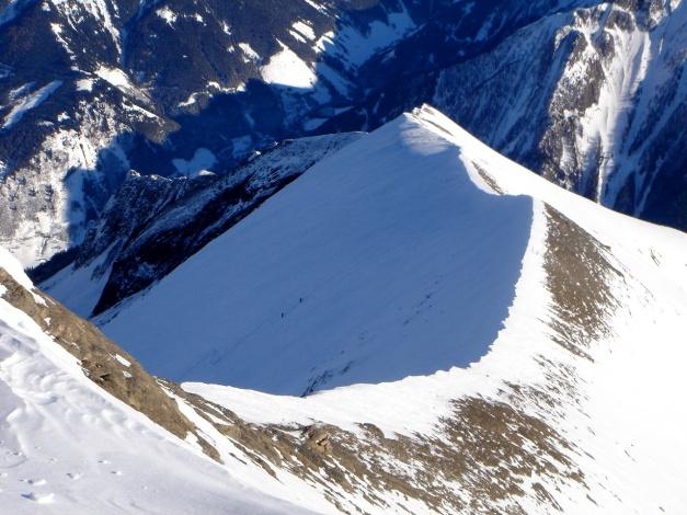 Foto: Manfred Karl / Ski Tour / Zwingscharte, 2760m - bzw. Hoher Tenn - Schneespitze, 3317m / 21.12.2008 16:32:44