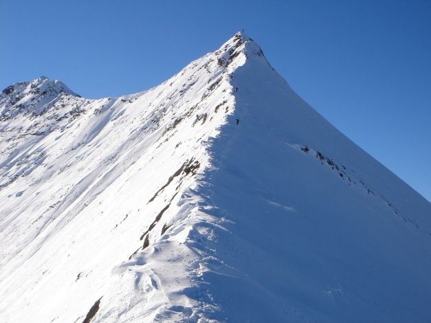 Foto: Manfred Karl / Ski Tour / Zwingscharte, 2760m - bzw. Hoher Tenn - Schneespitze, 3317m / 21.12.2008 16:32:19