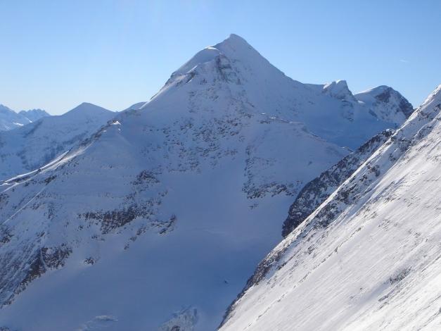 Foto: Manfred Karl / Ski Tour / Zwingscharte, 2760m - bzw. Hoher Tenn - Schneespitze, 3317m / Kl und Gr Wiesbachhorn / 21.12.2008 16:32:08