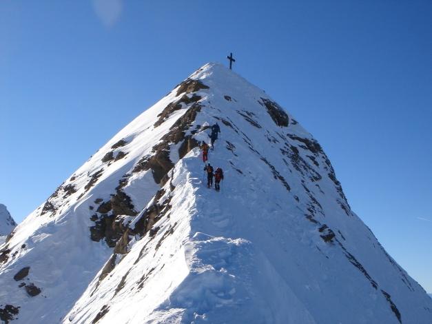 Foto: Manfred Karl / Ski Tour / Zwingscharte, 2760m - bzw. Hoher Tenn - Schneespitze, 3317m / 21.12.2008 16:31:17