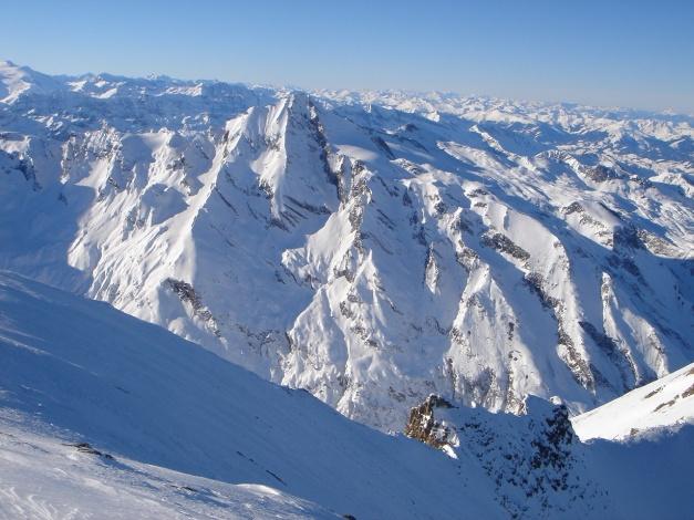 Foto: Manfred Karl / Ski Tour / Zwingscharte, 2760m - bzw. Hoher Tenn - Schneespitze, 3317m / Kitzsteinhorn / 21.12.2008 16:30:33