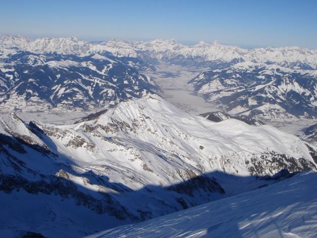 Foto: Manfred Karl / Ski Tour / Zwingscharte, 2760m - bzw. Hoher Tenn - Schneespitze, 3317m / 21.12.2008 16:28:44