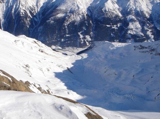 Foto: Manfred Karl / Ski Tour / Zwingscharte, 2760m - bzw. Hoher Tenn - Schneespitze, 3317m / 21.12.2008 16:28:29