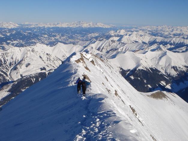 Foto: Manfred Karl / Ski Tour / Zwingscharte, 2760m - bzw. Hoher Tenn - Schneespitze, 3317m / 21.12.2008 16:28:01