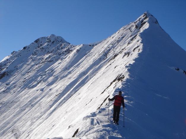 Foto: Manfred Karl / Ski Tour / Zwingscharte, 2760m - bzw. Hoher Tenn - Schneespitze, 3317m / 21.12.2008 16:27:33
