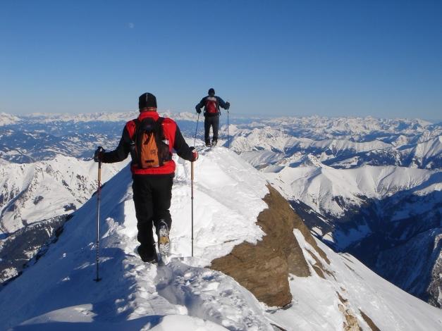 Foto: Manfred Karl / Ski Tour / Zwingscharte, 2760m - bzw. Hoher Tenn - Schneespitze, 3317m / 21.12.2008 16:27:18