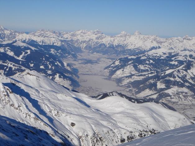 Foto: Manfred Karl / Ski Tour / Zwingscharte, 2760m - bzw. Hoher Tenn - Schneespitze, 3317m / Zeller Becken / 21.12.2008 16:26:37