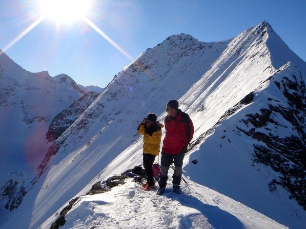 Foto: Manfred Karl / Ski Tour / Zwingscharte, 2760m - bzw. Hoher Tenn - Schneespitze, 3317m / 21.12.2008 16:26:01