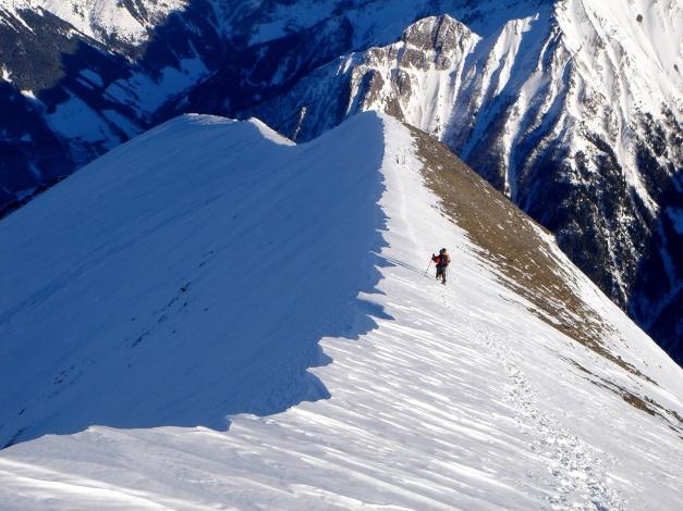 Foto: Manfred Karl / Ski Tour / Zwingscharte, 2760m - bzw. Hoher Tenn - Schneespitze, 3317m / 21.12.2008 16:25:12