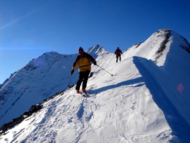 Foto: Manfred Karl / Ski Tour / Zwingscharte, 2760m - bzw. Hoher Tenn - Schneespitze, 3317m / 21.12.2008 16:24:08