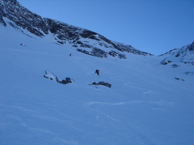 Foto: Manfred Karl / Ski Tour / Zwingscharte, 2760m - bzw. Hoher Tenn - Schneespitze, 3317m / 21.12.2008 16:23:14