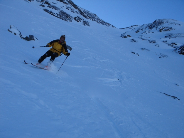 Foto: Manfred Karl / Ski Tour / Zwingscharte, 2760m - bzw. Hoher Tenn - Schneespitze, 3317m / 21.12.2008 16:22:58