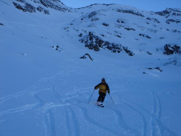 Foto: Manfred Karl / Ski Tour / Zwingscharte, 2760m - bzw. Hoher Tenn - Schneespitze, 3317m / 21.12.2008 16:22:23
