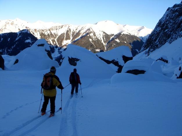 Foto: Manfred Karl / Ski Tour / Zwingscharte, 2760m - bzw. Hoher Tenn - Schneespitze, 3317m / 21.12.2008 16:20:19