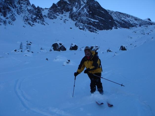 Foto: Manfred Karl / Ski Tour / Zwingscharte, 2760m - bzw. Hoher Tenn - Schneespitze, 3317m / 21.12.2008 16:19:35