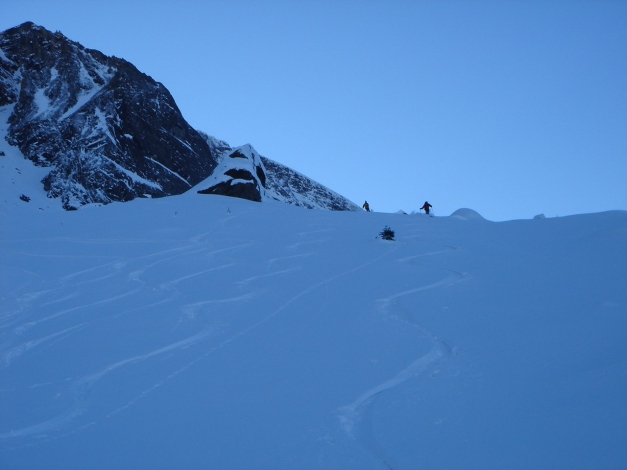 Foto: Manfred Karl / Ski Tour / Zwingscharte, 2760m - bzw. Hoher Tenn - Schneespitze, 3317m / 21.12.2008 16:19:12