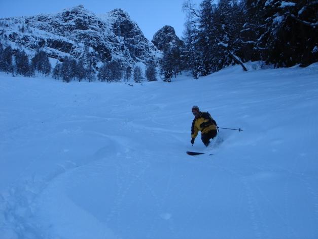 Foto: Manfred Karl / Ski Tour / Zwingscharte, 2760m - bzw. Hoher Tenn - Schneespitze, 3317m / 21.12.2008 16:18:55