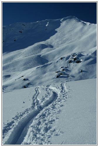Foto: Troll_CZ / Ski Tour / Brechhorn, 2032m / Brechorn Gipfel. / 27.03.2009 01:31:03