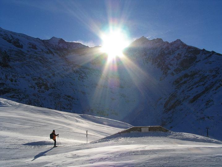 Foto: Andreas Koller / Ski Tour / Hohe Fürlegg, 2947m / 24.12.2008 01:24:49