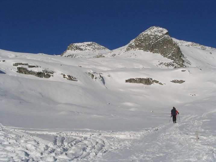 Foto: Andreas Koller / Ski Tour / Hohe Fürlegg, 2947m / 24.12.2008 01:24:35