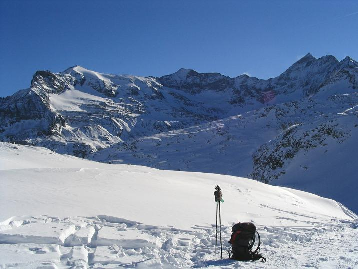 Foto: Andreas Koller / Ski Tour / Hohe Fürlegg, 2947m / 24.12.2008 01:24:29